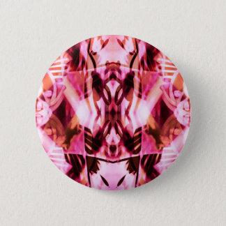 Pink graffiti pattern pinback button
