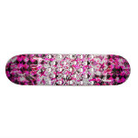 Pink Graffiti Skulls Deck
