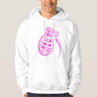 Pink granada sudadera con capucha
