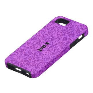 Pink Granite iPhone SE/5/5s Case