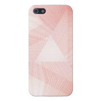 Pink Grapefruit Artsy Design iPhone SE/5/5s Case