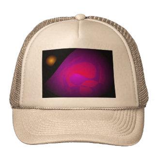 Pink Grapefruit Mesh Hat