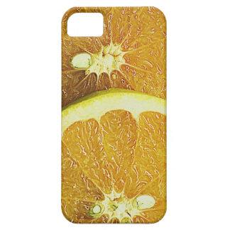 Pink grapefruit iPhone SE/5/5s case