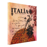 Pink Grapes Italia Gallery Wrap Canvas