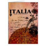 Pink Grapes Italia Greeting Card