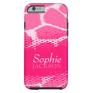 Pink graphic animal iPhone 6 case