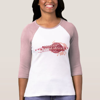 Pink Graphic Circle South Dakota T-Shirt Jersey