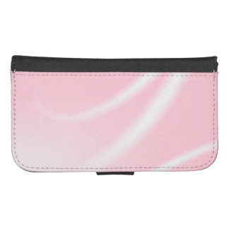 Pink Graphic Wallet Case