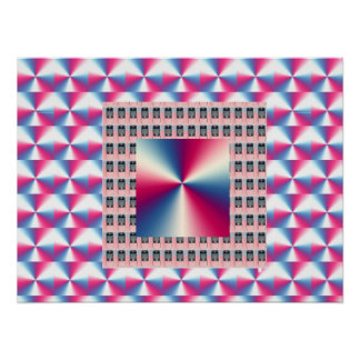 PINK Graphics : Elegant lamps n sparkle refections Poster