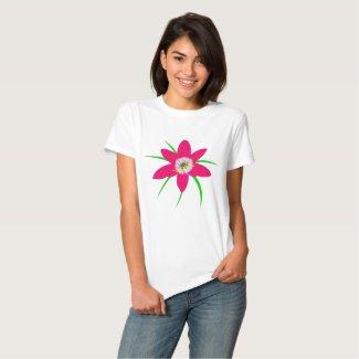 Pink Grass Flower Shirts