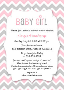 Save 60 on pink gray baby shower invitations limited time only pink gray girl baby shower invites bring a book filmwisefo