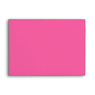 """Pink, Gray Houndstooth A7 Envelope for 5""""x7"""" Sizes"""