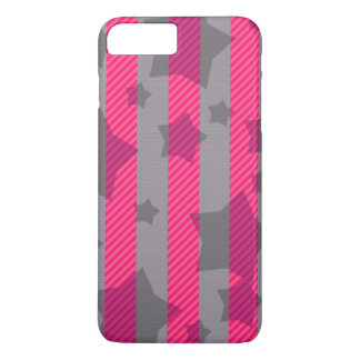 Pink & Gray iPhone 8 Plus/7 Plus Case