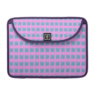 Pink Gray Marker Sleeve For MacBook Pro
