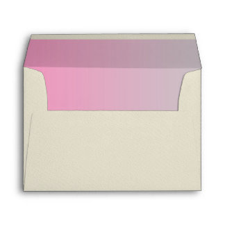 Pink & Gray Ombre Envelope