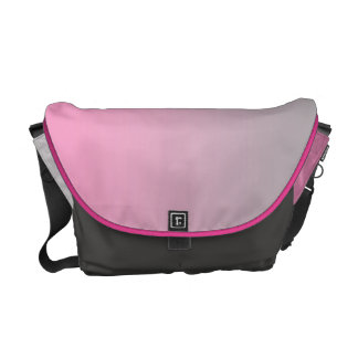 Pink & Gray Ombre Messenger Bag