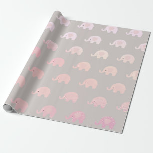 Elephant Wrapping Paper Zazzle