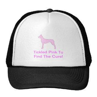 Pink Great Dane Trucker Hat