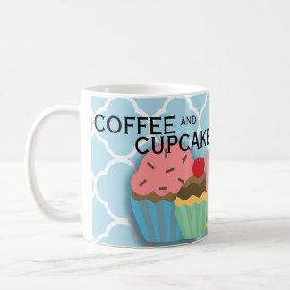 Pink Green Blue Coffee Cupcakes Make World Go... Coffee Mug