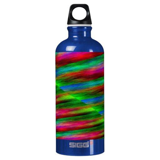 Pink Green Blue Color Splashes SIGG Traveler 0.6L Water Bottle