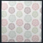 "Pink green blue pastel color mandala pattern cloth napkin<br><div class=""desc"">Pink green blue pastel color mandala pattern collection</div>"