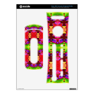 pink green colorful ribbons xbox 360 decal