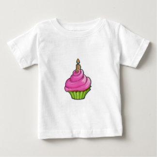 Pink & Green Cupcake Infant T-shirt
