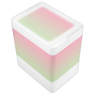 Pink & Green Ombre Cooler