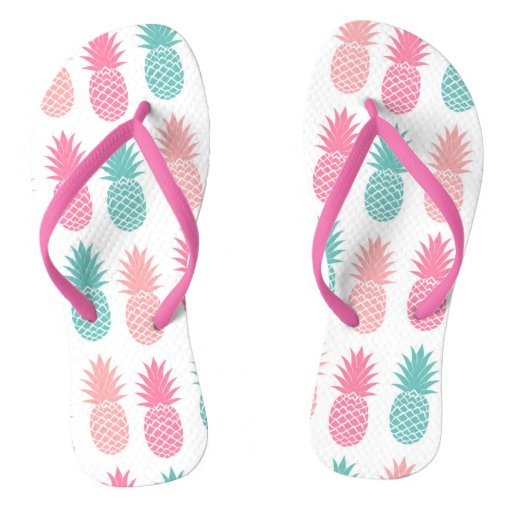 Pink & Green Pineapples