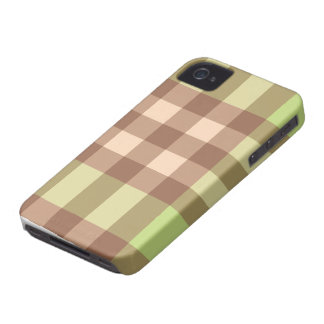 Pink Green Plaid Striped Design Blackberry Cas iPhone 4 Case
