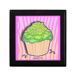 Pink & Green Pop Art Cupcake Gift Box