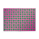 Pink green shamrocks and hearts cases for iPad mini
