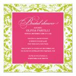 PINK & GREEN SHOWER | BRIDAL SHOWER INVITE