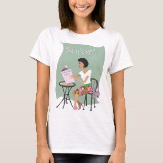 Pink & Green Sorority t-shirt (alpha)