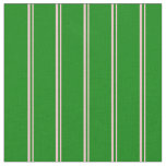 [ Thumbnail: Pink & Green Striped/Lined Pattern Fabric ]