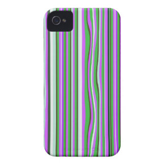 Pink & Green  Stripes Blackberry Bold Case Mate