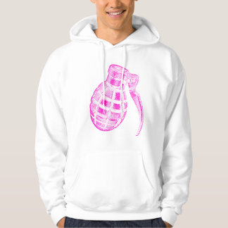 Pink grenade sweatshirt
