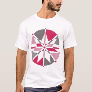 Pink & Grey 7 Point Star T-Shirt