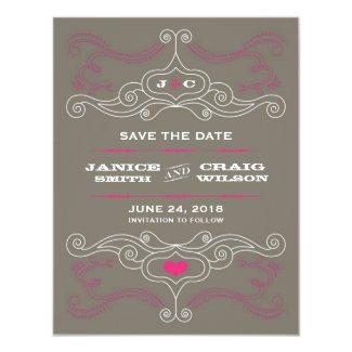 Pink & Grey Rock 'n' Roll Music Themed Wedding
