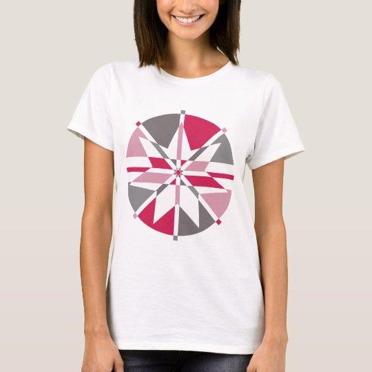 Pink & Grey T-Shirt