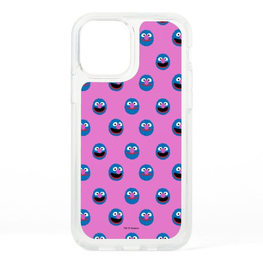 Pink Grover Face Pattern Speck iPhone 12 Pro Case