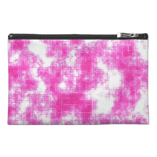 Pink Grunge Travel Accessories Bags