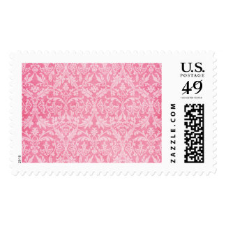 Pink Grunge Damask Wedding Collection Z02 Stamps