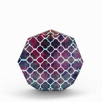 Pink Grunge Moroccan Style Award