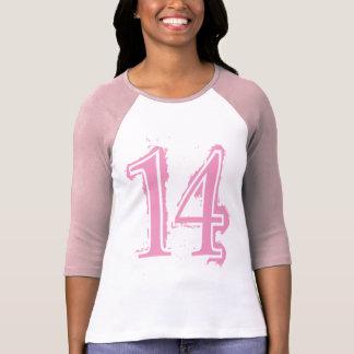 PINK GRUNGE NUMBER 14 T-Shirt