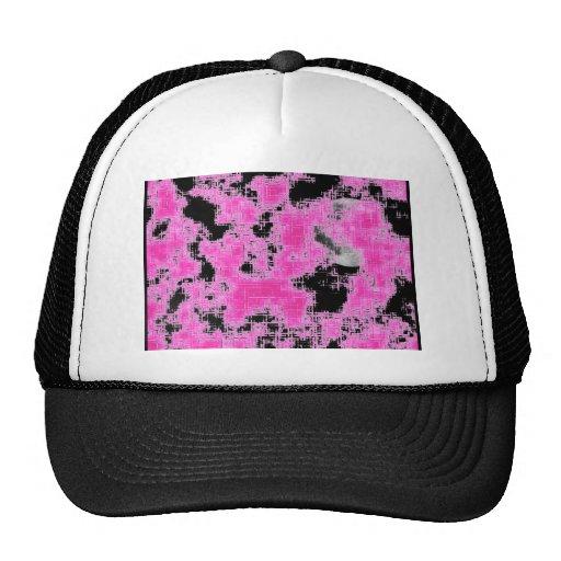 Pink Grunge Trucker Hat