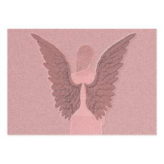 Pink Guardian Angel Business Cards