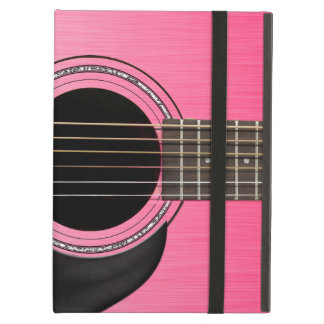 Pink Guitar Pad iPad Air Cover