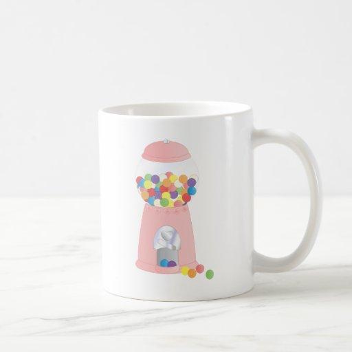 Pink Gumball Machine Coffee Mugs