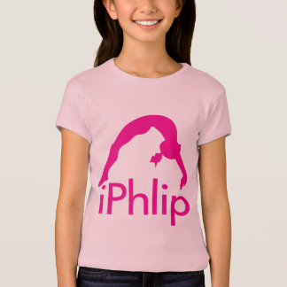 Pink Gymnastics Shirt for Girl